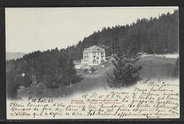 Carte P De 1903 ( Suisse / Ste-Croix / Hôtel Du Mont-Blanc ) - VD Vaud