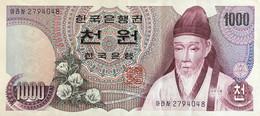 South Korea 1.000 Won, P-44 (1975) - Extremely Fine - Korea, South