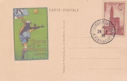FIFA COUPE DU MONDE, 1938. FUTBOL FOOTBALL. STRASBOURG, FRANCE CARTE POSTALE.- LILHU - Soccer