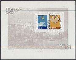 PORTUGAL  Block 19, Postfrisch **, Briefmarkenausstellung LUBRAPEX '76, Porto 1976 - Blocks & Sheetlets