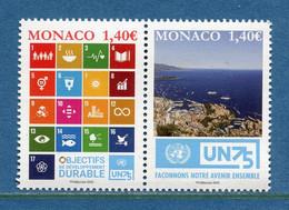 ⭐ Monaco - YT N° 3254 Et 3255 - Neuf Sans Charnière - 2020 ⭐ - Nuovi