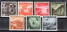 Autriche YT N° 482/483 Et Poste Aérienne N° 42/46 Neufs ** MNH. TB. A Saisir! - Neufs