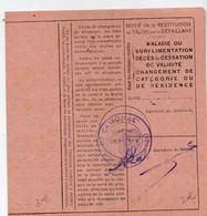 Cavignac (33 Gironde) (restriction Rationnement)  Carte De LAIT ENTIER OU STANDART   1944  (PPP27396) - Sin Clasificación