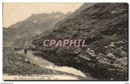 CPA Environs De Luchon Route Du Luc Vert Le Petit Lac De Prat Long Pie Et Massif De Boum - Non Classificati