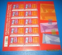 4089** Blok Van 2011 - De Vrijmaking Van De Postmarkt - Libéralisation Du Marché Postal - Hojas