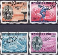 Haiti 1960 - Mi 623/32 - YT 447/50 ( Roma Olympics ) Airmail - Haiti