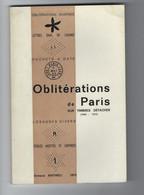 Oblitérations De Paris Sur Timbres Détachés (1849- 1876) Armand Mathieu 1974 - Oblitérations