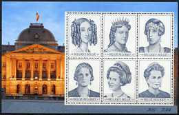 Blok 89** Dynastie Zes Koninginnen Postfris / Bloc 89 MNH Les 6 Reines Belges 2971/76** - Bloques 1962-....