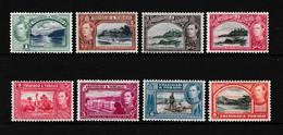 TRINIDAD  AND  TOBAGO    1938    Various  Designs    Part  Set  Of  8    MH - Trinidad & Tobago (...-1961)