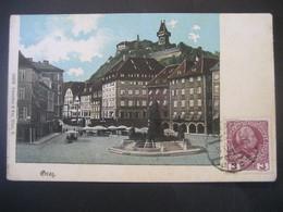 Österreich- AK Graz Mit Uhrturm, Verlag: Schneider & Co - Graz
