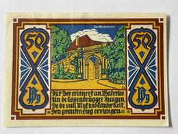 Allemagne Notgeld Osnabruck 50 Pfennig - Collezioni
