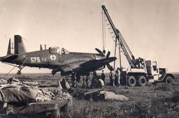 Crach D'un Corsaire Base De KHOURIBAGA   (Maroc Le 22/04/1960) - Unclassified