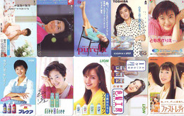 LOT 10 Telecartes Differentes Japon * FEMME Femmes (A-452) SEXY GIRL Girls Phonecards Japan * TELEFONKARTEN FRAUEN FRAU - Moda