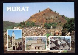 Pas Courant - MURAT(15 Cantal) N-D Haute Auvergne Rocher Bonnevie, N-D Des Oliviers, Eglise Des Bredons, Toits De Lauzes - Murat