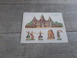 Exposition Coloniale Angkor Collection Gaduase Publicité Pour L'huile De Foie De Morue Découpage Pour Enfant - Advertising