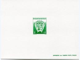 T. A. A. F. EPREUVE DE LUXE DU N°184 ** ARMOIRIES - Imperforates, Proofs & Errors