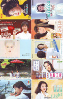 LOT 10 Telecartes Differentes Japon * FEMME Femmes (A-456) SEXY GIRL Girls Phonecards Japan * TELEFONKARTEN FRAUEN FRAU - Moda