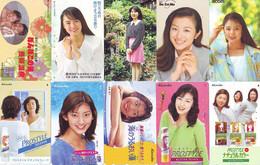 LOT 10 Telecartes Differentes Japon * FEMME Femmes (A-460) SEXY GIRL Girls Phonecards Japan * TELEFONKARTEN FRAUEN FRAU - Moda