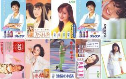 LOT 10 Telecartes Differentes Japon * FEMME Femmes (A-461) SEXY GIRL Girls Phonecards Japan * TELEFONKARTEN FRAUEN FRAU - Moda