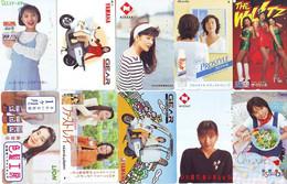 LOT 10 Telecartes Differentes Japon * FEMME Femmes (A-464) SEXY GIRL Girls Phonecards Japan * TELEFONKARTEN FRAUEN FRAU - Moda