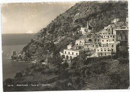 V6046 Positano (Napoli) - Torre Di Fornillo - Panorama / Viaggiata 1957 - Other Cities
