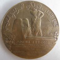 Médaille Coloniale Crédit Foncier Algérie Et Tunisie, André Lebon 1928 Par DAUTEL - Other