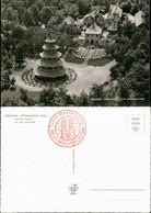 Ansichtskarte München Chinesischer Turm Chines Tower Englischer Garten 1960 - Muenchen