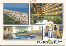 CALELLA.  HOTEL...  KAKTUS PLAYA.  (scan Verso) - Barcelona