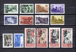 Rusia   1947 .-   Y&T  Nº   1150/1159-1160A-1163A/1162A - Oblitérés