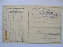 Bayern Feldlazarett 4, Feldpost 1917 Nach München (45891) - Guerra 1914-18