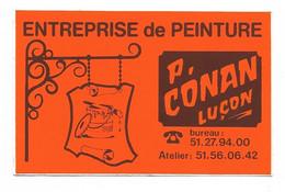 AUTOCOLLANT - STICKER ENTREPRISE DE PEINTURE P. CONAN LUÇON - Stickers