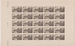 FRANCE, Feuille Complète N° 501 Yvert Neuf **, Remparts D'Aigues Mortes, Coin Daté 27/05/1941 - Fogli Completi