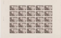 FRANCE, Feuille Complète N° 542 Yvert Neuf **, Emmanuel Chabrier, Compositeur, Musique,  1942 - Fogli Completi