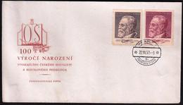 Czechoslovakia Prague 1952 / 100th Anniversary Of The Birth Of Sevcik, Musician, Music / FDC - FDC