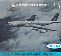 Europatours     Sabena - Advertising