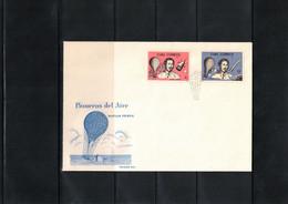 Cuba 1965 Space / Raumfahrt Pioneers Of Space Matias Perez FDC - Brieven En Documenten