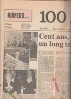 LE SOIR 100 ANS 1 JANVIER 1987 - History