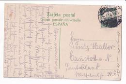 Deutsch Südwestafrika, Stempel Swakopmund, 1914, Auf Postkarte Calzada Tafira, Las Palmas Gran Canaria - Colony: German South West Africa