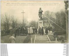 57 METZ. L'Homme De Fer Bientôt Renversé 1918 - Metz