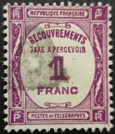FRANCE Taxe N°59 Oblitéré - 1859-1955 Gebraucht