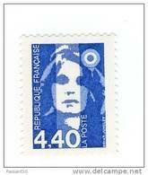 Briat 4fr40 Bleu YT 2822b Avec GOMME MATE . Rare Sur Ce Timbre , Voir Le Scan . Cote YT : 7 € , Maury N° 2818a : 8 € . - Varietà: 1990-99 Nuovi