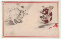 Illustrateurs Signés // Mauzan //  Chien , Carte Fantaisie - Mauzan, L.A.