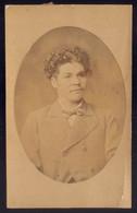 Fotografia Antiga Homem Identificado - PHOTOGRAPHIA FRITZ Rua Do Almada PORTO. Old CDV Photo PORTUGAL 1884 - Ancianas (antes De 1900)
