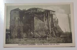 Villafranca Lunigiana Castello Malaspina Visto Dal Magra - Massa