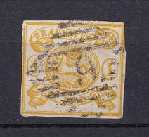Braunschweig - 1864 - Michel Nr. 14 A - Gestempelt - 180 Euro - Brunswick