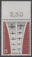 !a! BERLIN 1959 Mi. 188 MNH SINGLE W/ Top Margin (a) -Ending Of Berlin Airlift - Neufs