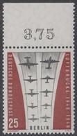!a! BERLIN 1959 Mi. 188 MNH SINGLE W/ Top Margin (b) -Ending Of Berlin Airlift - Neufs