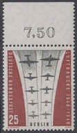 !a! BERLIN 1959 Mi. 188 MNH SINGLE W/ Top Margin (e) -Ending Of Berlin Airlift - Neufs