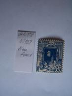 FRANCE ALGERIE FRANCAISE 1938 NEUF VARIETE N°137  BLEU FONCE RUE DE LA CASBAH - Nuevos