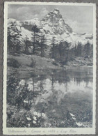 VALTURNANCHE - CERVBINO E LAGO BLU  -- 1939   -  BELLA - Other Cities